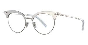 Boucheron BC0040O Silver-Silver-Transparent
