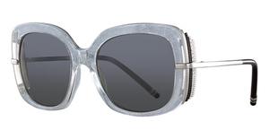 Boucheron BC0002S Crystal-Silver-Smoke