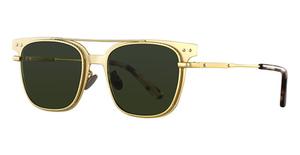 Bottega Veneta BV0095SA Gold-Gold-Green