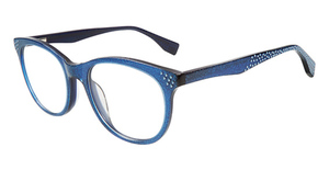 Converse Q406 Blue Glitter