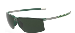 Silhouette 4057 Green Polarized