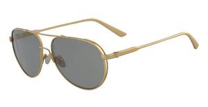 Calvin Klein CK8053S (718) Satin Gold