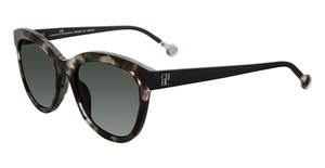 CH Carolina Herrera SHE743 Green Tortoise 07D7