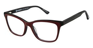 Glamour Editor's Pick GL1008 Burgundy Black