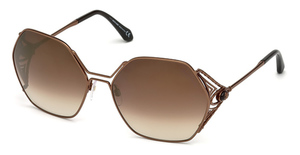 Roberto Cavalli RC1056 shiny light bronze / brown mirror