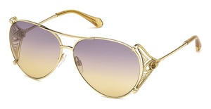 Roberto Cavalli RC1057 gold / gradient or mirror violet