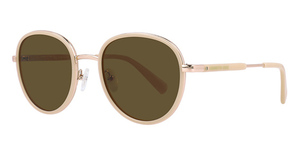 Kenneth Cole New York KC7227 shiny beige / brown polarized