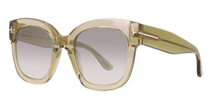 Tom Ford FT0613 Shiny Light Brown / Gradient Brown