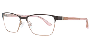Aspex EC455 Satin Dark Brown & Light Pink