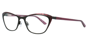 Aspex EC456 Satin Black & Dark Pink