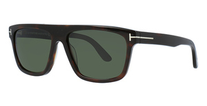 Tom Ford FT0628 Dark Havana / Green