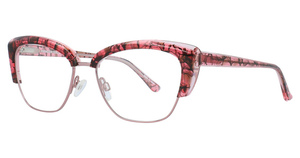 Aspex P5041 Shiny Light Pink & Pink Crystal & Brown