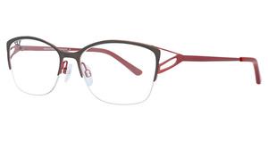 Aspex EC480 Matt Dark Grey & Shiny Red