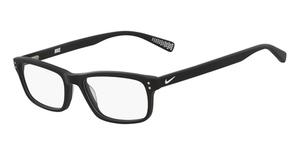 Nike NIKE 7237 (003) MATTE BLACK/WHITE