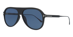Tom Ford FT0624 Matte Black / Smoke Polarized
