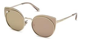Swarovski SK0173 Shiny Rose Gold / Brown Mirror
