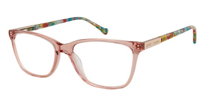 Betsey Johnson Crystal Clear Eyeglasses