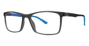 B.M.E.C. BIG Push black/blue matte