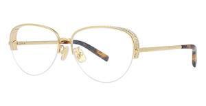 Boucheron BC0049O Gold-Gold-Transparent