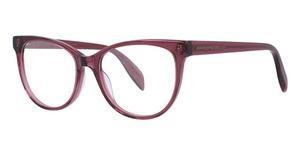 Alexander McQueen AM0114O Pink-Pink-Transparent