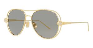Boucheron BC0030S Gold-Gold-Gold