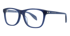 Alexander McQueen AM0076OA Blue-Blue-Transparent