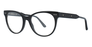 Bottega Veneta BV0017O Black-Black-Transparent
