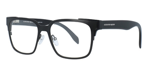Alexander McQueen AM0014O Black-Black-Transparent
