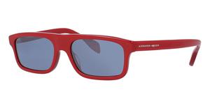 Alexander McQueen AM0030S Red-Red-Silver