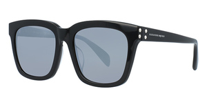 Alexander McQueen AM0064SK Black-Black-Silver