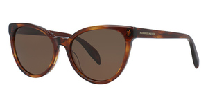 Alexander McQueen AM0111S Avana-Avana-Brown