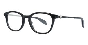 Alexander McQueen AM0110O Black-Silver-Transparent