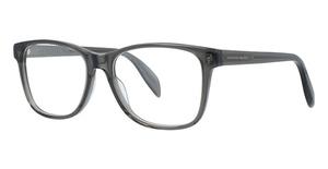 Alexander McQueen AM0113O Grey-Grey-Transparent