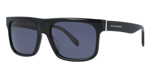 Alexander McQueen AM0037S Black-Black-Grey
