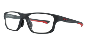 Oakley Crosslink Fit (A) OX8142M (Asian Fit) Satin Black/Red