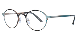 Aspex C7001 Shiny Dark Aqua & Grey & Black & Light Brown