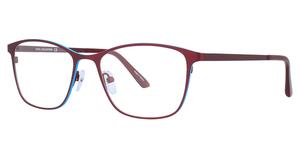 Aspex C7004 Satin Burgundy & Blue