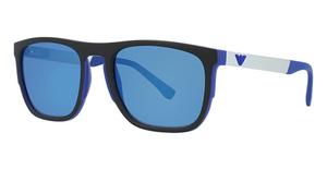 Emporio Armani EA4114 Matte Electric Blue