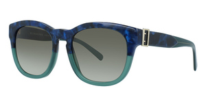 Burberry BE4258 BLUE HAVANA/GREEN