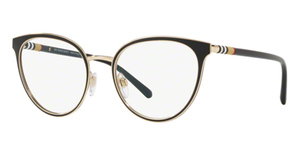 Burberry BE1324 Black/Light Gold