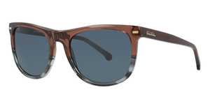 Brooks Brothers BB5037S Cordovan Grey Horn Gradi