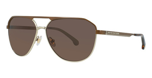 Brooks Brothers BB4044S Brown/Gold