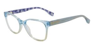 Converse Q407 Blue Glitter