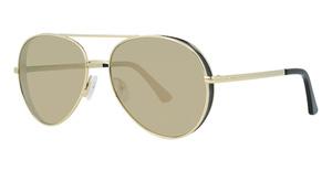 Guess GU7607 gold / brown mirror