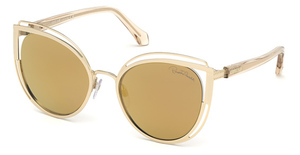 Roberto Cavalli RC1095 gold / brown mirror