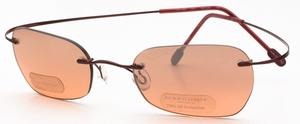 Airlock 720/18S Burgundy W/ Coral/Silver Grdnt Mirror Lenses