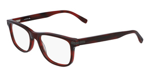 Lacoste L2841 (604) STRIPED BURGUNDY