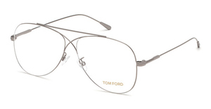 Tom Ford FT5531 Shiny Light Ruthenium
