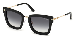 Tom Ford FT0573 Shiny Black / Gradient Smoke