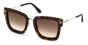 Tom Ford FT0573 Dark Havana / Gradient Brown